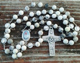 Catholic Rosary Beads Pope Francis