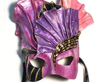 Ruffles Masquerade Mask X-0210