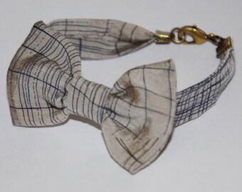 Bracelet knot 87 related gray/blue pattern