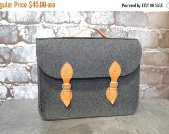 Christmasinjuly Satchel, bag for laptop,felt laptop bag 17inch, simply felt laptop bag