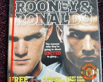 3 x Manchester United Magazines - older ones - Collectors Items