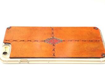 iPhone X Case | Leather Southwestern
