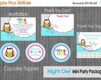 FLASH SALE Night Owl Party Package