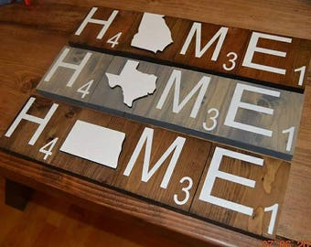 State scrabble tiles, any state
