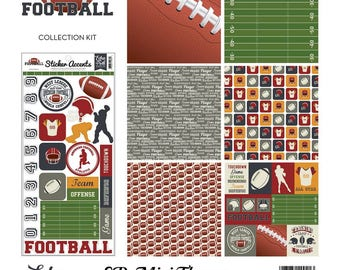 "Echo Park Mini Theme Kit ""Football"""