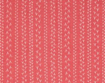 Kaufman Doodle Pop Flamingo Pink Bird Feet Tracks OOP Fabric 15932-111 BTY