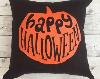 Halloween Pillow cover, happy halloween