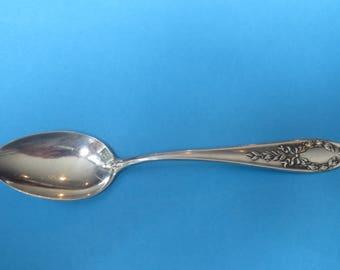 Vintage Sterling Silver Unknown Pattern  Tea Spoon