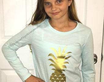 Youth Pineapple T-Shirt