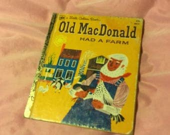 Old MacDonald Had A Farm, Little Golden Book 1980