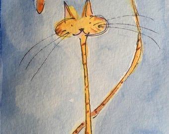 Rarity (Orange Cat), 2017
