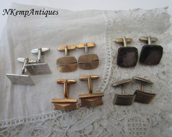 Vintage cufflinks x 5