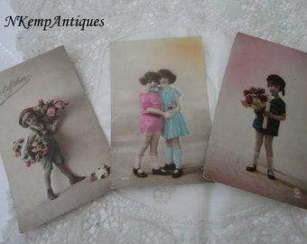 Antique postcard x 3