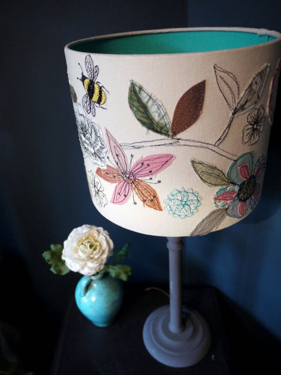 Stitched Lampshade -Made to order