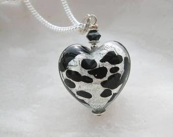 Silver Murano Glass necklace