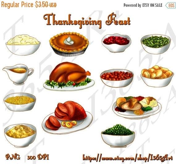 50 off thanksgiving feast clipart thanksgiving clip art turkey rh catchmyparty com thanksgiving feast clipart images Thanksgiving Border Clip Art