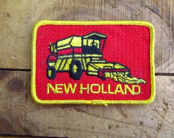 Vintage New Holland Patch - Farm Equipment Patch - Tractor Patch