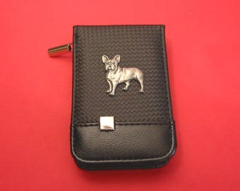 French Bulldog Black Faux Carbon Fibre Manicure Set Beauty Travel Kit Dog Vet Mother Father Gift Christmas Gift