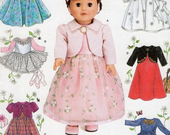 Simplicity 4364- Sewing pattern for 18 Inch Doll Clothes- Fits American Girl Dolls