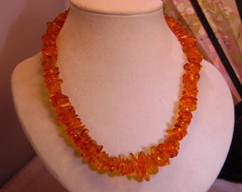 Pretty Vintage Baltic Amber Necklace