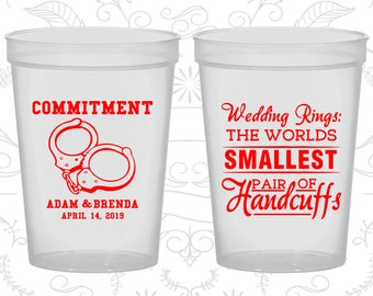 Natural Stadium Cups, Natural Cups, Natural Party Cups, Natural Wedding Cups (505)