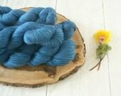 Silk Merino Wool 4 Ply Yarn 100g - Sock Shawl Cowl - hand dyed