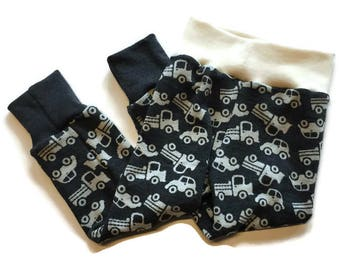 Wool Longies cuffed pants 2/3T Ready to Ship