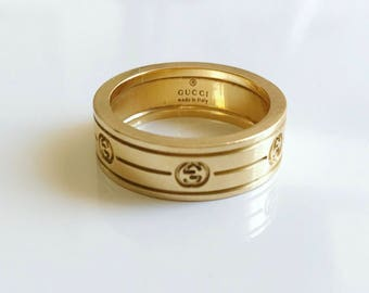 Vintage Gucci Heavy Gold Band
