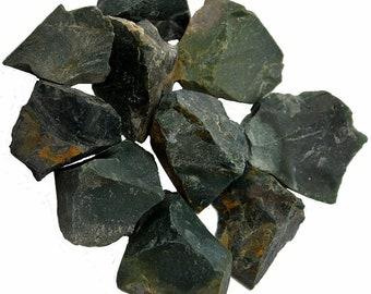Bloodstone - Rough - 1lb - 1 to 2.inch pieces - Bulk Lot - lb Pound Heliotrope
