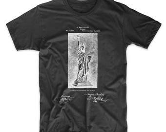 Statue Of Liberty T Shirt, Statue Of Liberty Patent, Statue Of Liberty Shirt PP0474