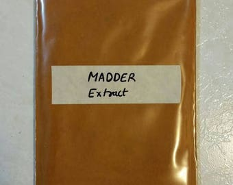 Madder Root Organic Extract - Indian Madder Rubia cordifolia 250 gram