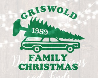 DIGITAL DOWNLOAD griswold svg - griswold family christmas shirt - christmas svg - holiday svg - silhouette - cricut - cut file