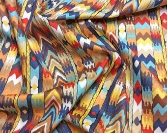 "Philip Jacobs ""Snow Leopard Designs"" Tribal Bukhara PWSL049 Terra Free Spirit Fabric"