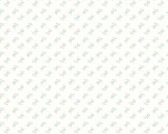Bee Backgrounds - Bicycle Mint by Lori Holt of Bee in My Bonnet for Riley Blake, 1/2 yard, C6389-Mint
