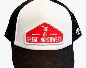 INFANT & TODDLER great northwest hat. I love the northwest. The great northwest trucker hat.