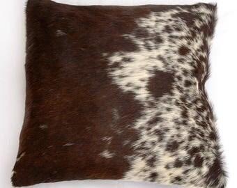 Natural Cowhide Luxurious Hair On Cushion/ Pillow Cover (15''x 15'') A105