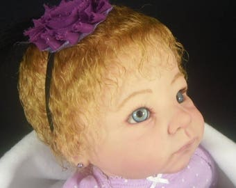 Andi Linda Murray Custom Reborn Doll Little Darlins Nursery Reborn Artist Rita Meese