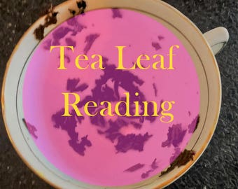 Spiritual Healing Tea Leaf Reading, divination, psychic reading PDF, Email,