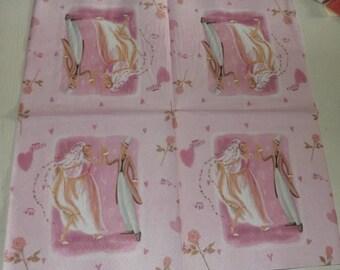 Paper towel / Napkins: wedding