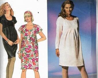 Simplicity 8196  Misses Maternity Dress    Size 18-22     Uncut