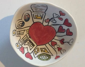 Love Town II--tiny story bowl