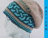 Celtic Double Knot Slouch Hat Pattern