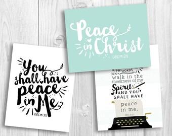 2018 Mutual Theme LDS, Peace in Christ, YW theme, mutual theme