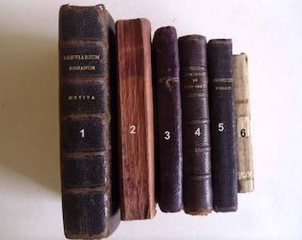 6 French missels Antique missels Catholic prayer books