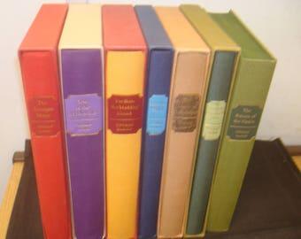 Set of 7 Thomas Hardy. Folio Society, with Slipcases