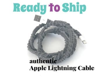 iPhone Lightning Charger Cable, iPhone EarPods, iPhone EarPods plus Lightning Cable Gift Set You Choose - AXEL by Missy and Joy