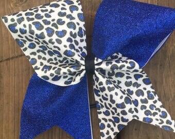 Cheer Bow - Cheetah Print