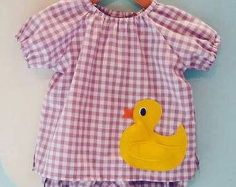 Rubber duckie blouse.