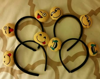 Emoji headbands