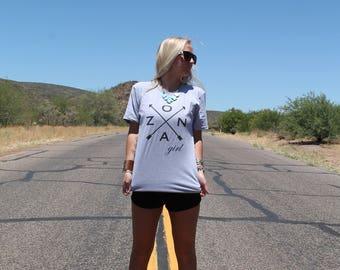 Zonagirl T-shirt Size Large